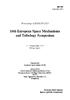 ESA SP_737 TOC - application/pdf